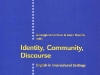 Identity, Community, Discourse: English in Intercultural Settings